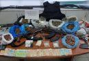 القبض على شخصين بتهمة تجارة المخدرات والأسلحة في جزيرة كريت اليونانية