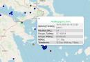 زلزال بقوة 4.1 درجة يضرب جزيرة إيدرا بالقرب من أثينا