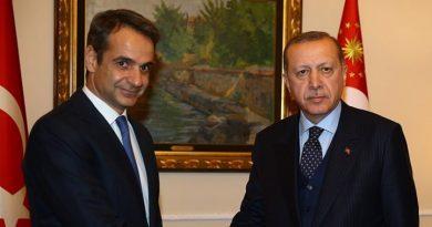 ميتسوتاكيس يجتمع مع أردوغان على هامش قمة الناتو في لندن