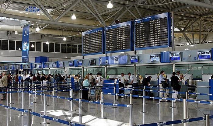 بالصور| القبض على أجنبيين حاولا تهريب كمية من المخدرات في مطار أثينا