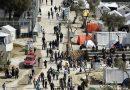 مقتل مهاجر طعناً في مخيم موريا بجزيرة ليسفوس اليونانية