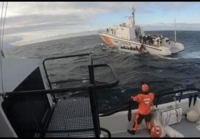 إنقاذ 22 مهاجرًا من الغرق قبالة أدرنة التركية