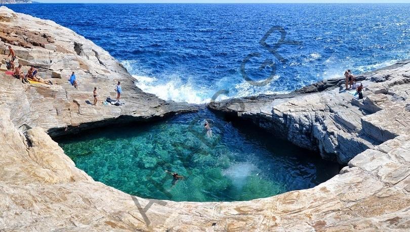 جزيرة ثاسوس اليونانية.. دمعة أفروديت